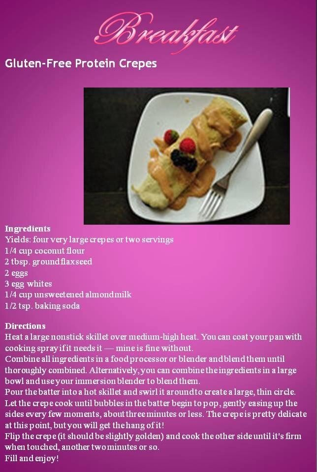 Protein crepes by Anina Den Heyer