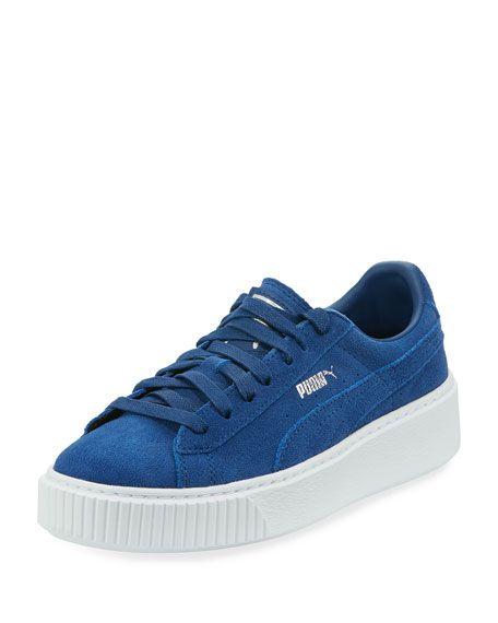 blue and white pumas