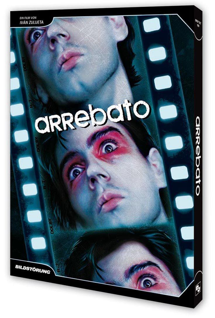 """Das Artwork zum Film """"Arrebato"""" von Iván Zulueta. Erschienen bei Bildstörung auf DVD."""