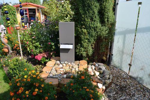 Schwallbrunnen / Brunnen aus Metall