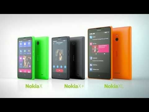 The new Nokia X family - Your Fastlane to Android™ apps