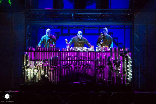 Live Review Blue Man Group Esch Sur Alzette 2019 Konzert