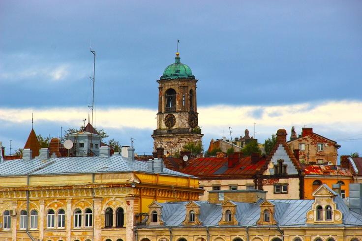 'Sellainen ol' Viipuri, sellainen ol' Viipuri, karjalaisten kaupunki' -  Watchtower - Vyborg  (The town of Viipuri once belong to Finland)