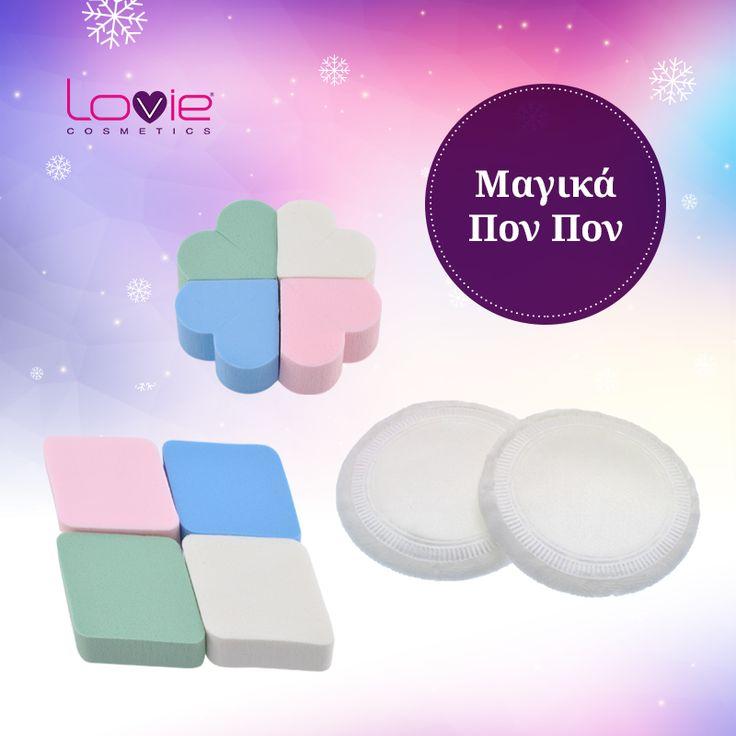 Ποιο πον πον προτιμάς; Η Lovie Cosmetics σου δίνει όσα χρειάζεσαι για το μακιγιάζ σου! http://www.lovie.gr/axesouar-makigiaz/ponpon-sfouggaria #lovie #cosmetics #makigiaz #ponpon