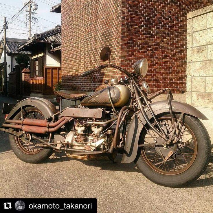 very nice Indian 437 up side-down Indian Motorcycle Museum Australia