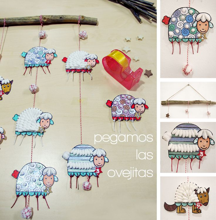http://petit-on.com manualidades con niños algodón 10