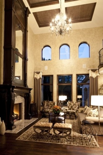 14 Best Images About High Ceiling Living Room On Pinterest