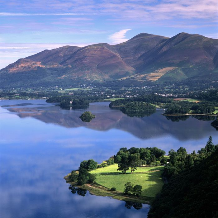 The best landscapes in Britain: Derwent Water, Lake District