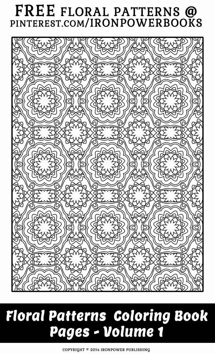 Flower Pattern Design FREE For Personal Use