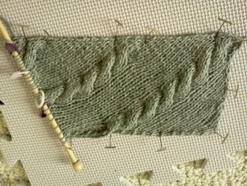 Knitting on bias #tutorial