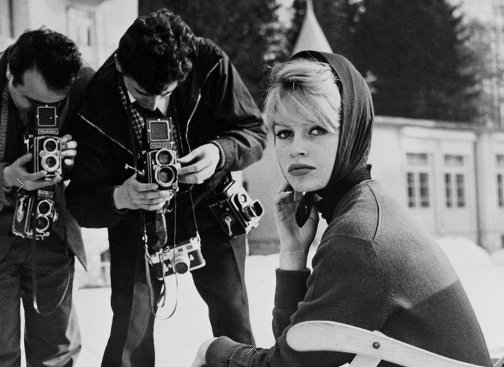 Brigitte in Cortina d'Ampezzo, 1958