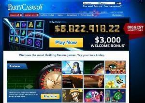 Party Casino Jackpot