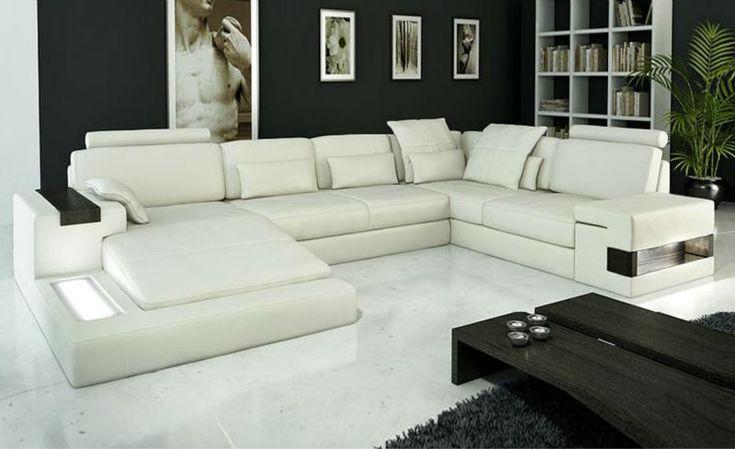 Latest Design Modern Sofa luxury large siz LIGHT L shaped Corner Genuine leather Sofa chinese antique furniture 9107-20 - from Alibaba.com