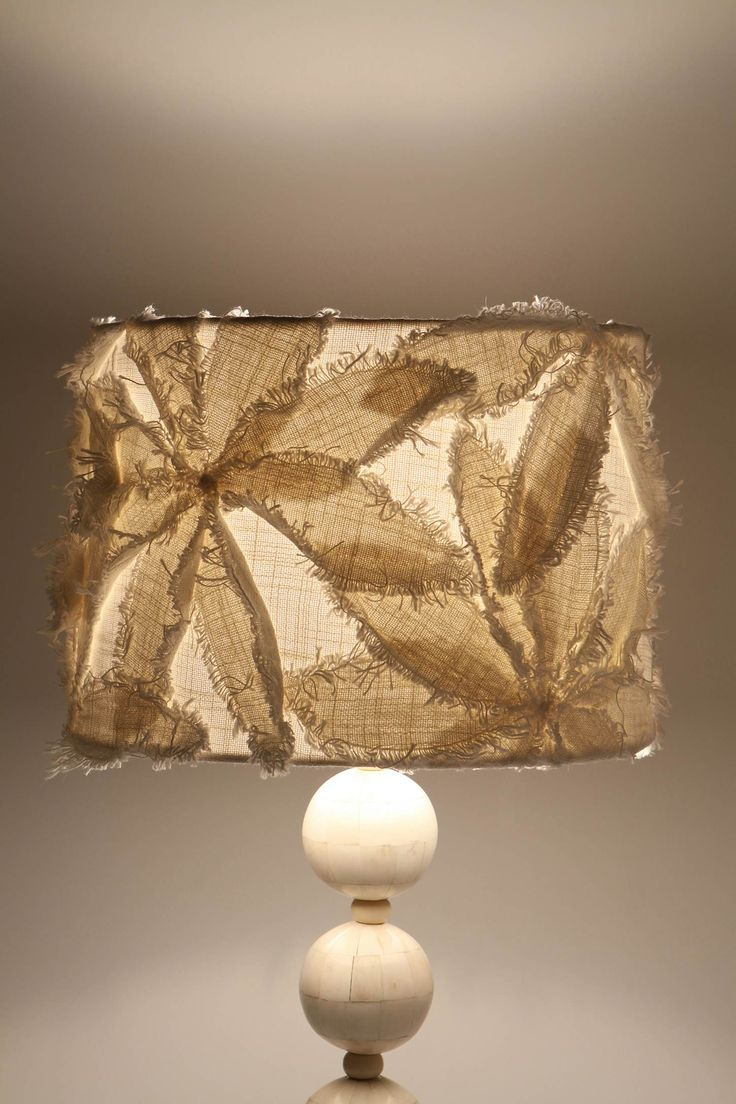 Cool lamp shade from anthropology...could be easy DIY :)