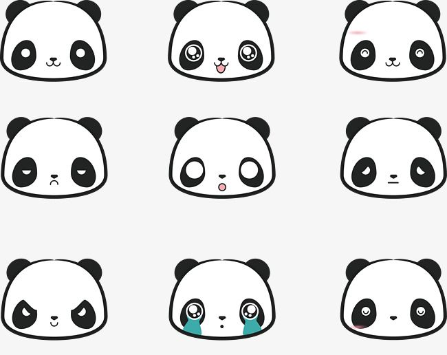 Cute Png Transparent Background Elephant Drawing Cute Panda Doodle Frame