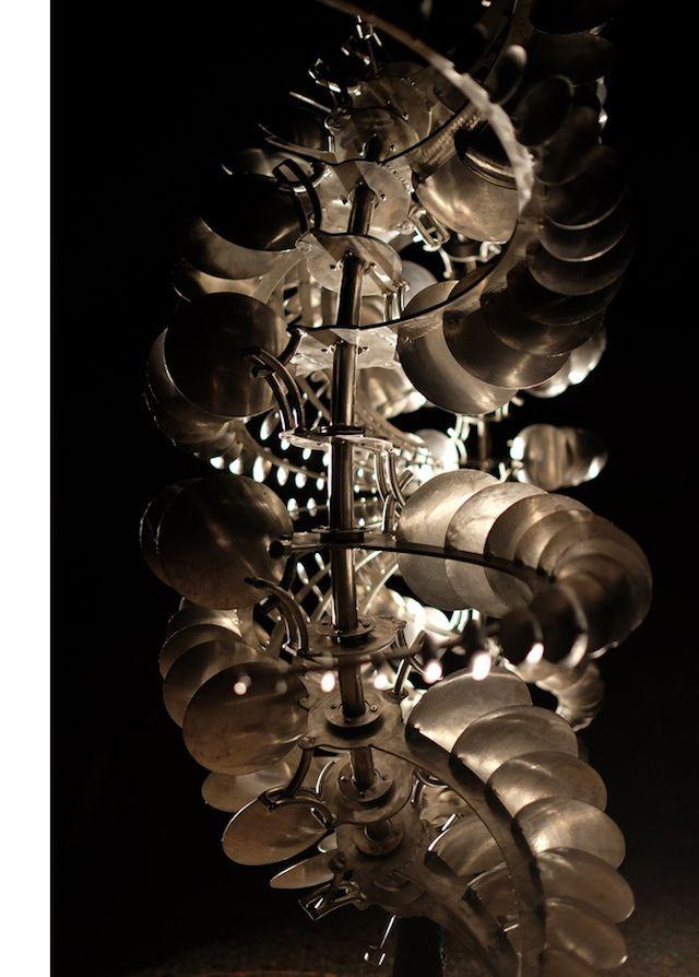 figuras eolicas de Anthony Howe escultura cinética @xintasprint1 #escultura #esculturas #cinetica #viento #arte #creativo