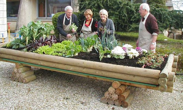 Potager bois Jardinou 4m sur Jardindeco. Idéal pour jardiner sans avoir à se baisser, le potager en bois Jardinou offre une belle surface pour semer à volonté !