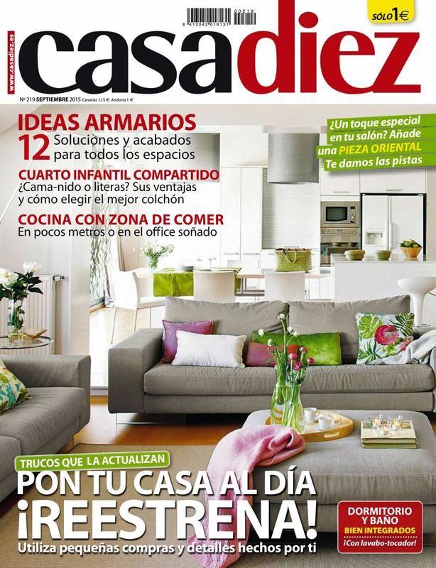revista casa diez septiembre 2015 descargar gratis pinchando sobre la imagen decoracin - Revistas De Decoracion