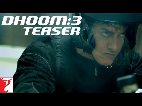 The teaser trailer of the most awaited film of 2013 - DHOOM:3 - Starring Aamir Khan, Abhishek Bachchan, Katrina Kaif & Uday Chopra. Movie releases on the 20th of December, 2013. #Bollywood #Movies #Dhoom3