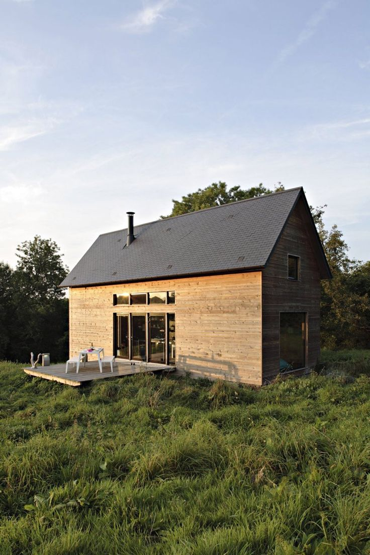 F House | Small House Swoon -- really has some nice ideas for a tiny house in it