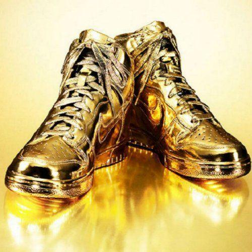 24K Gold Nikes - $5,405