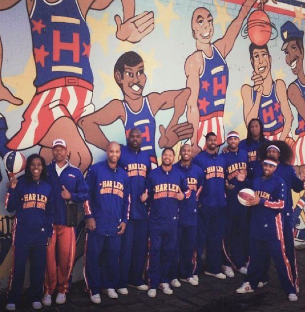 Harlem Globetrotters visit Fitzroy :)