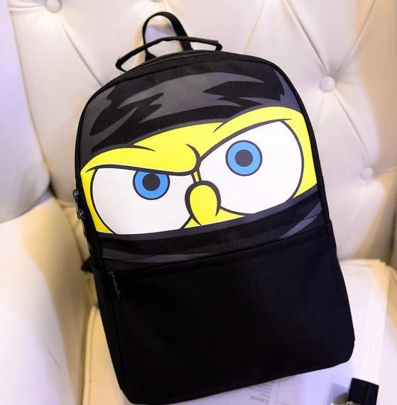 Cartoon Sponge Bob Large-Capacity Durable Nice Quality Backpack 3 Colors