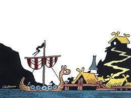 OK. We need to get something Norse up here quick or all the Night Vale and Shakespeare is going to confuse people. Here, this should take care of it.... (Hagar the Horrible)
