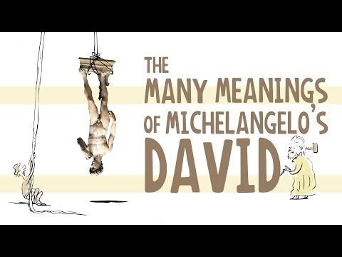 The many meanings of Michelangelo's Statue of David - James Earle - YouTube | Ted Ed #Art #ArtHistory