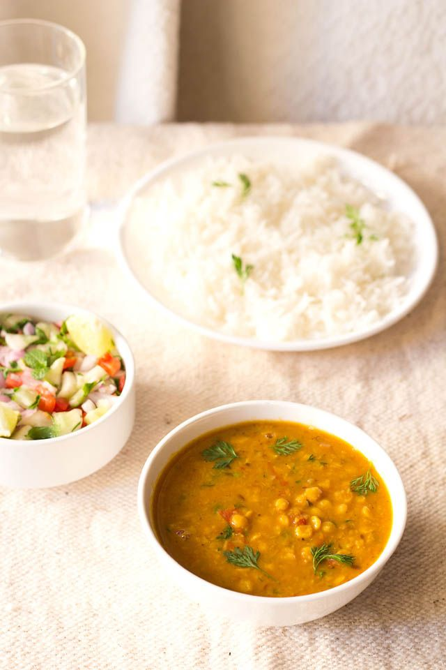 Chana Dal: North Indian (Punjabi) chana dal fry recipe >in this version you soak the dal(lentils) for an hour prior to cooking; vegetarian side or main dish