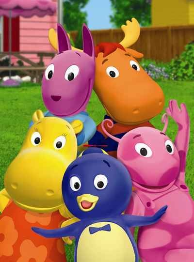 Backyardigans. My favorite children's show. I will probably watch them even when my kids grow up for the catchy tunes and excellent choreography.