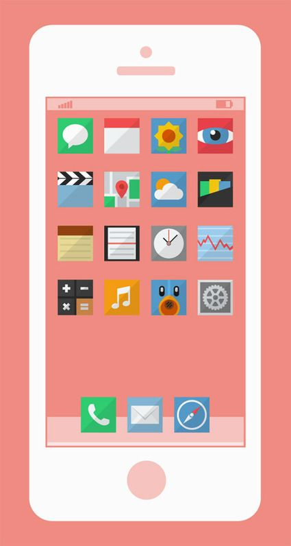 40 Beautiful Flat Icon Sets For Web UI Design   deSign of the Times   Scoop.it