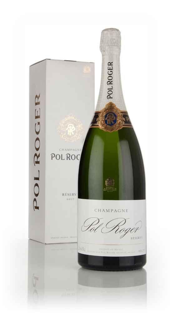 Pol Roger Brut Réserve - Magnum (1.5L) - Master of Malt Dear #whiskysanta, please may I have Pol Roger Brut Magnum from @MasterofMalt for Christmas. I've been good!