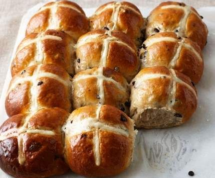 Recipe Easter Hot Cross Buns by Manly13 - Recipe of category Baking - sweet