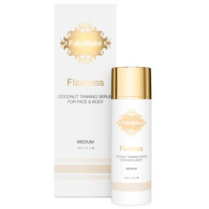 The latest Fake Bake self tan product: Fake Bake Flawless Coconut Tanning Serum For Face And Body 148ml