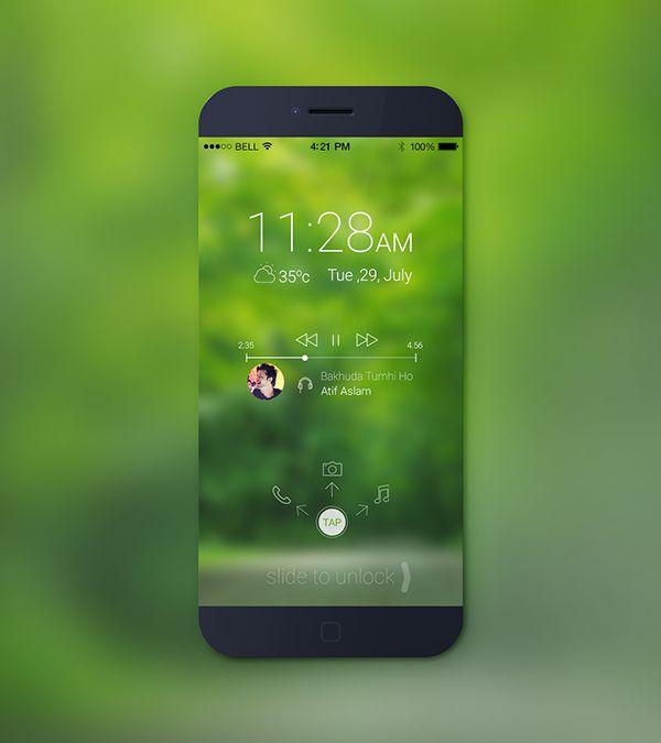 iPHONE 6 SCREEN LOCK. on Behance