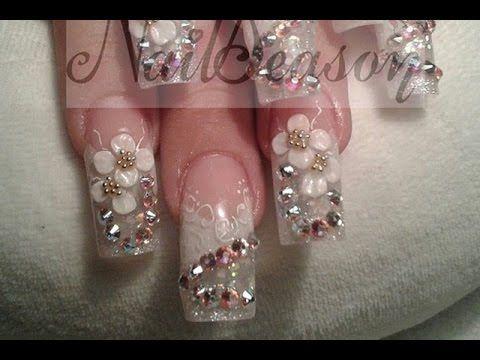 Nailseason Iris uñas de novia acrilicas esculturales y de tip 2014 - 2015 - galeria