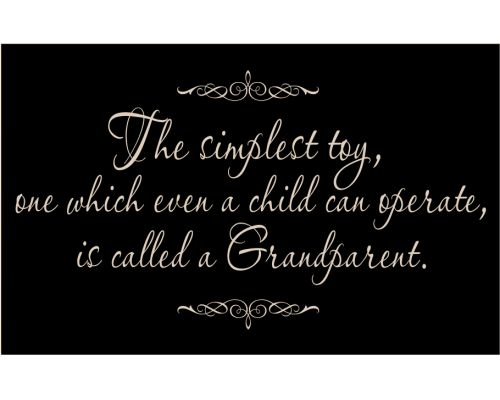 Grandparents...oh how I miss mine !