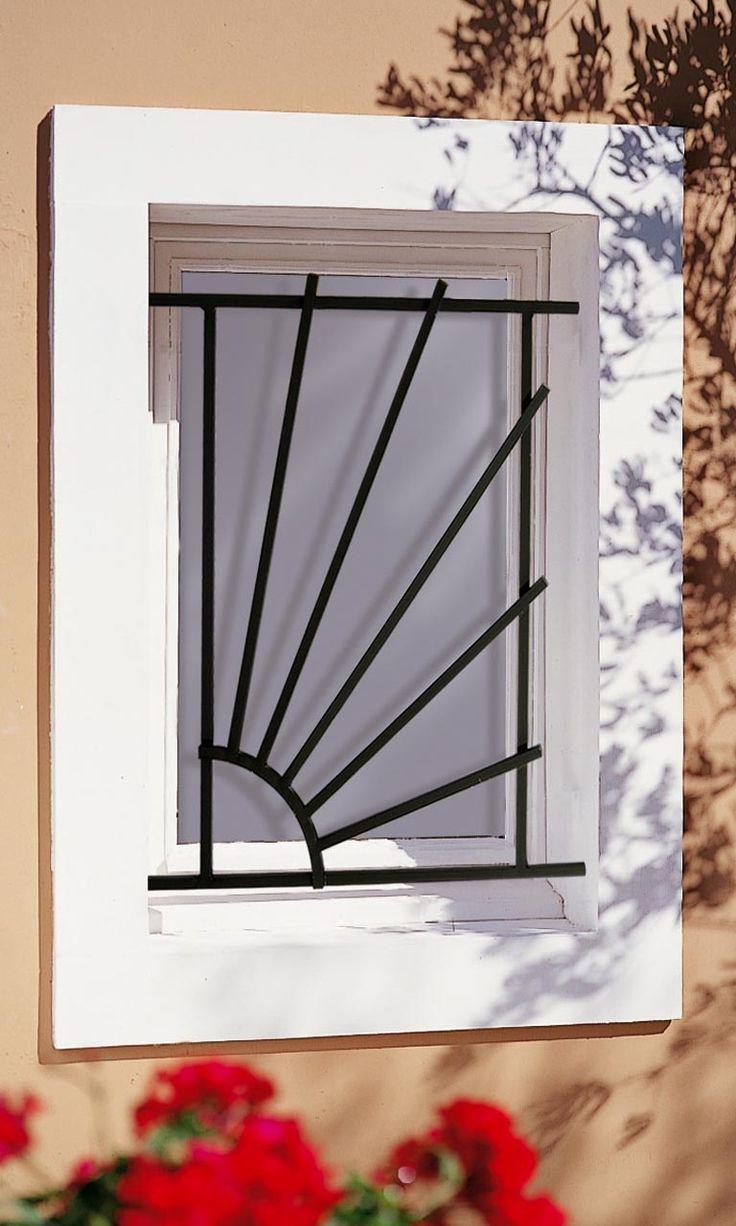Grille de fenêtre en fer forgé Sam                                                                                                                                                                                 Plus