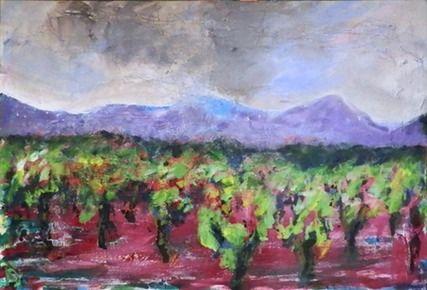 Vines, Acrylic on canvas, 100x70 £840/1000€/$1260