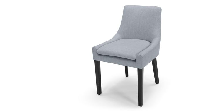 Percy Scoop Back Chair, Persian Grey | made.com