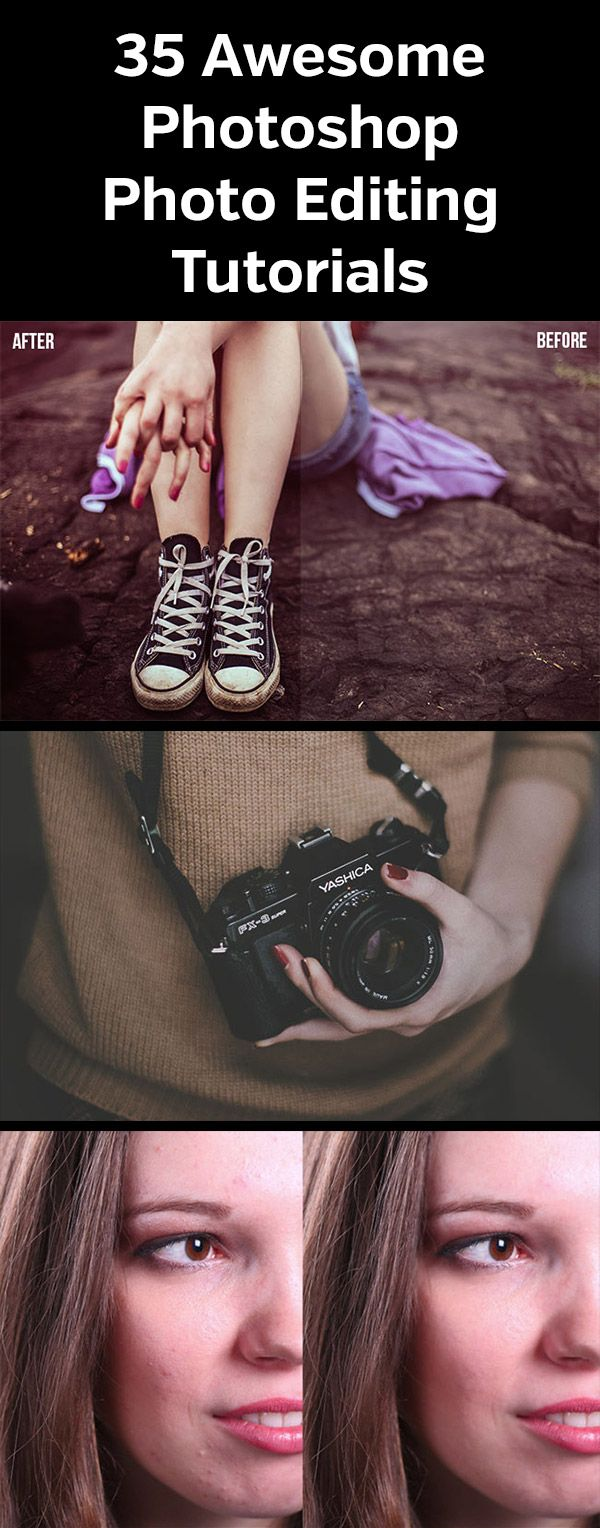 35 Awesome Photoshop Photo Editing Tutorials