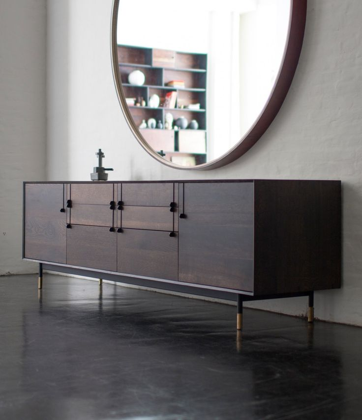 LUXURY FURNITURE | modern sideboard with small details that make the…
