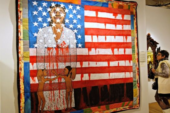 Emeritus Faith Ringgold Faith Ringgold Flag