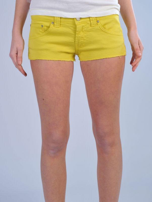 DONDUP Shorts jude giallo http://www.dipierrobrandstore.it/product/2108/Shorts-jude-giallo.html