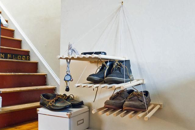 19 Hanging Storage Hacks to Get Your Home Super Organized: Elevate Your Shoes