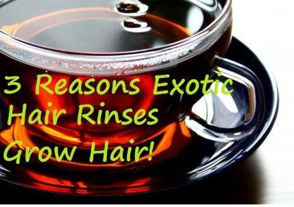 exotic hair rinse