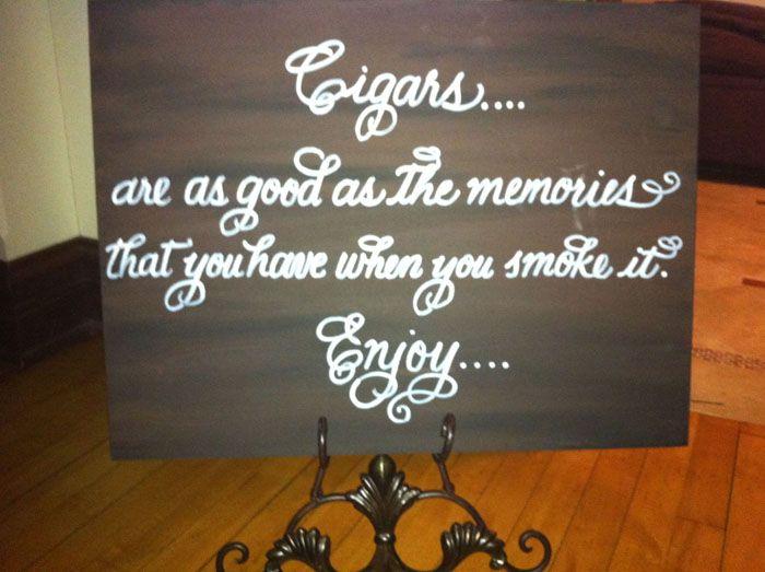 Cigar Bar...love this sign!