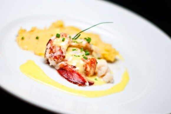 Lobster with Yuzu Hollandaise and Uni Mashed Potatoes | Recipe
