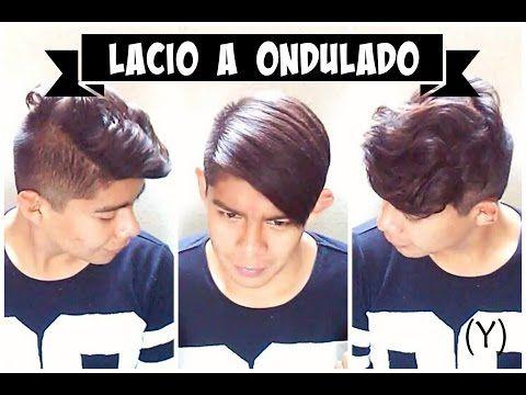 TUTORIAL: CABELLO ONDULADO PARA HOMBRES   HAIRSTYLE -NERYBANG - YouTube